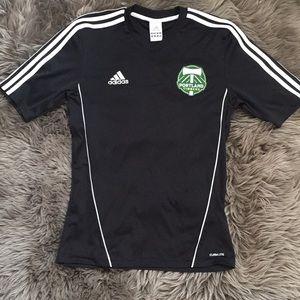 adidas Portland Timbers Soccer Jersey SMALL